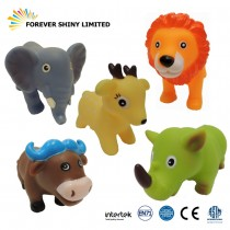 8.7cm Wild Animal Vinyl Bathing Toy (1)