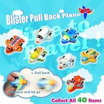 Blister Pull Back Plane