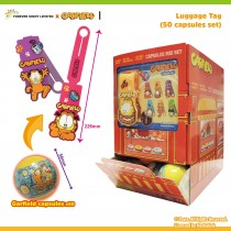 Garfield Luggage Tag (50 Capsules Set)