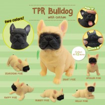 TPR Bulldog with cotton