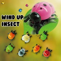 Wind up insect