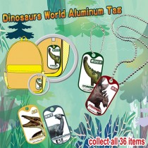 F-DINOTAG Dinosaurs World Metal Tag
