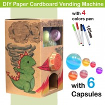 DIY Paper Cardboard Vending Machine
