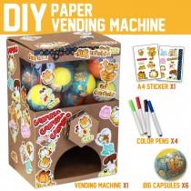 Garfield Paper Cardboard Vending Machine