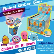 Animal Water Gun Display Box