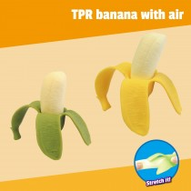 TPR banana with air