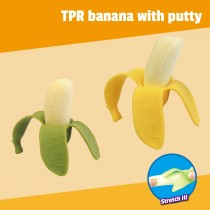 TPR banana with putty