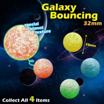Galaxy Bouncing Ball 32mm