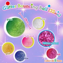 Glitter Bouncing Ball  32mm