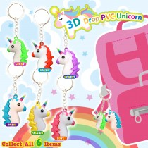 3D Drop PVC Unicorn