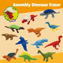 Assembly Dinosaur Eraser