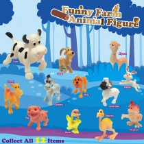 Funny Farm Animal Figurine