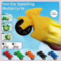 Inertia Speeding Motorcycle (No printing)