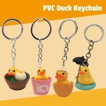 PVC Duck Keychain