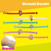 PVC Mermaid Bracelet
