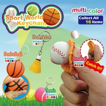 Sport World Keychain