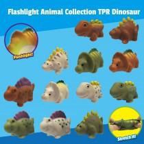 """Flashlight Animal Collection"" TPR Dinosaur"
