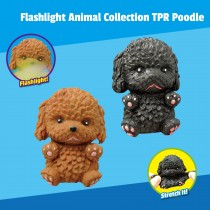 """""""Flashlight Animal Collection"""" TPR Poodle"""