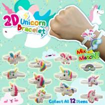 2D Unicorn Bracelet