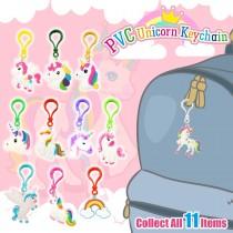 PVC Unicorn Keychain