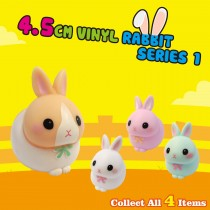 4.5cm Vinyl Rabbit - Series 1
