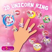 2D Unicorn Ring (14mm)