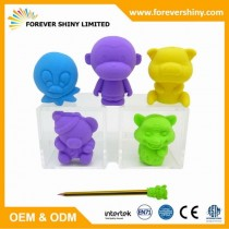 FA08-006 Animal Eraser Topper