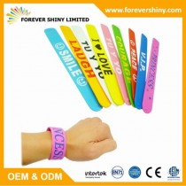 FA09-018 silicon slap bracelet