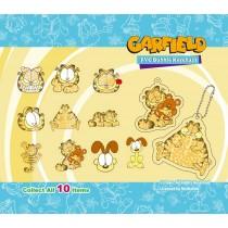 Garfield PVC Bubble Keychain
