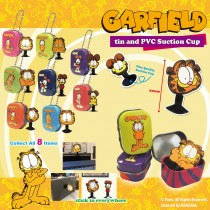 Garfield Tin Box & PVC Suction Cup