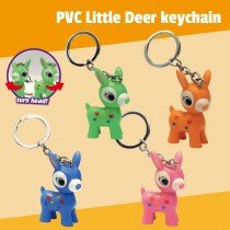 PVC Little Deer Keychain