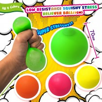 Low Resistance Squishy Stress Reliever Ball (7cm)
