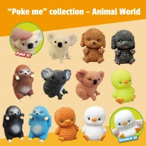 """Poke Me"" collection - Animal World"