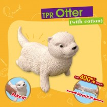 TPR Otter with cotton